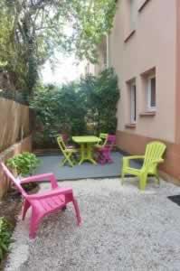 Loger à Toulouse : Jardin-Terrasse